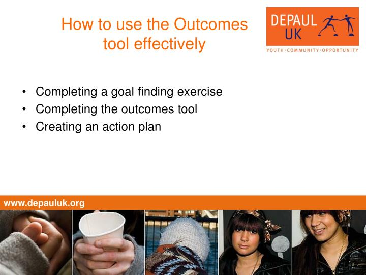 How to use the Outcomes