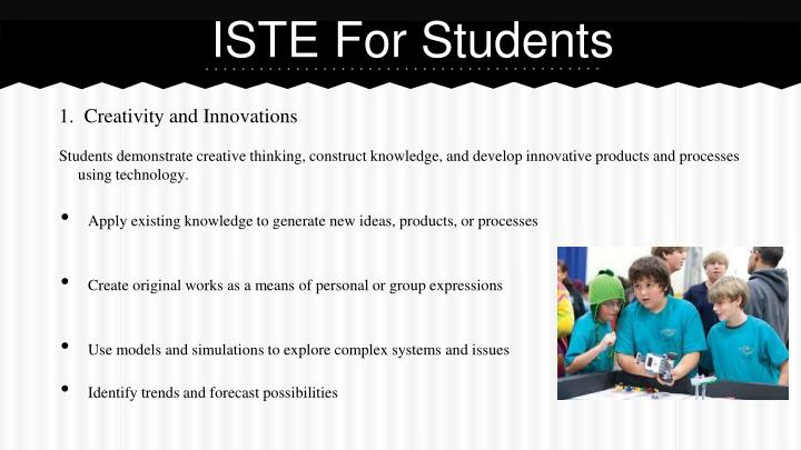 ISTE For Students