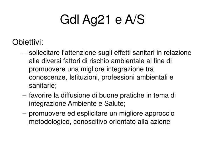 Gdl Ag21 e A/S