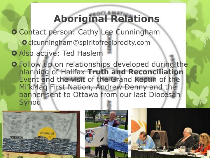 Aboriginal Relations