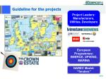 guideline for the projects