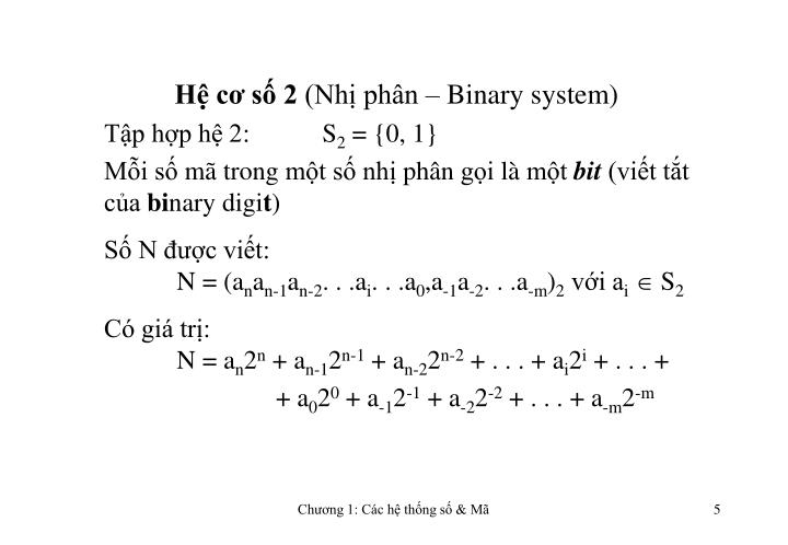 Hệ cơ số 2