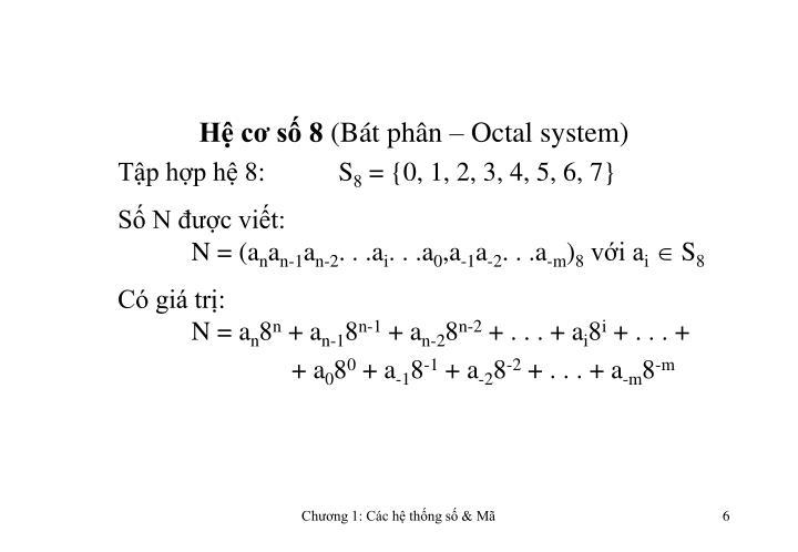 Hệ cơ số 8