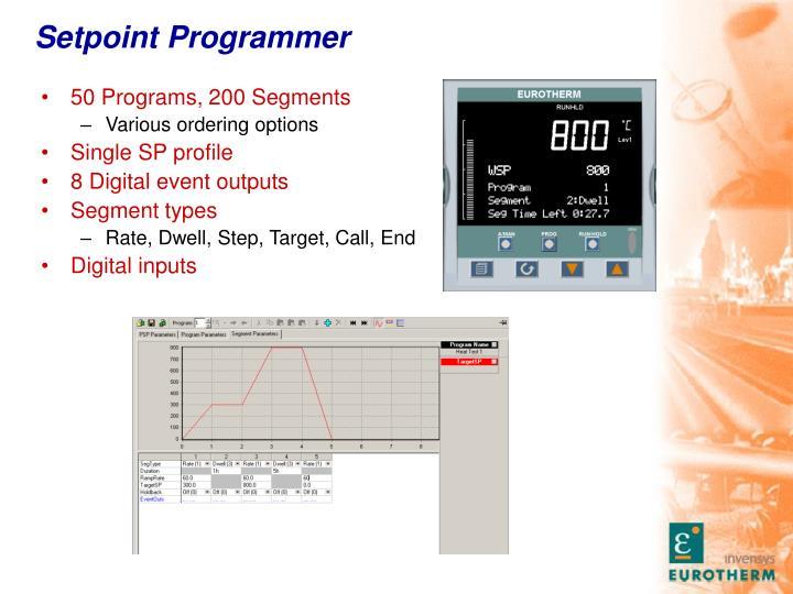 Setpoint Programmer