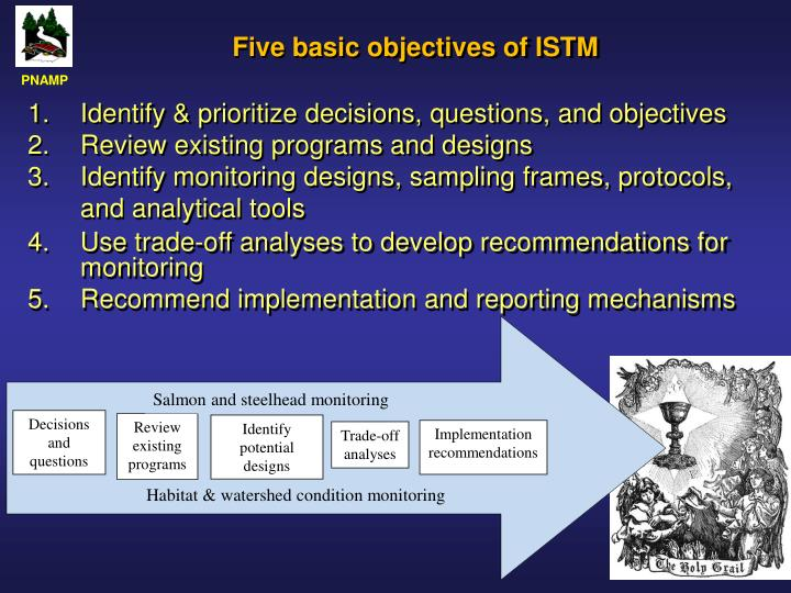 Five basic objectives of istm