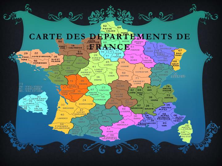 Carte des