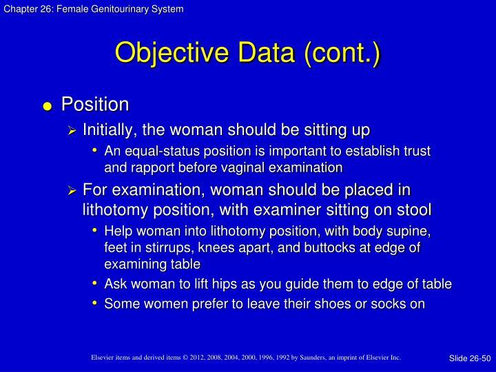 Objective Data