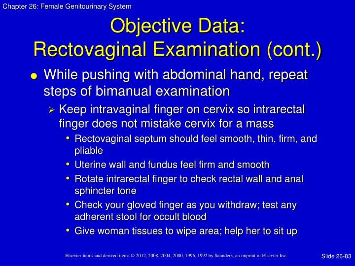 Objective Data: