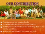 our contribution2