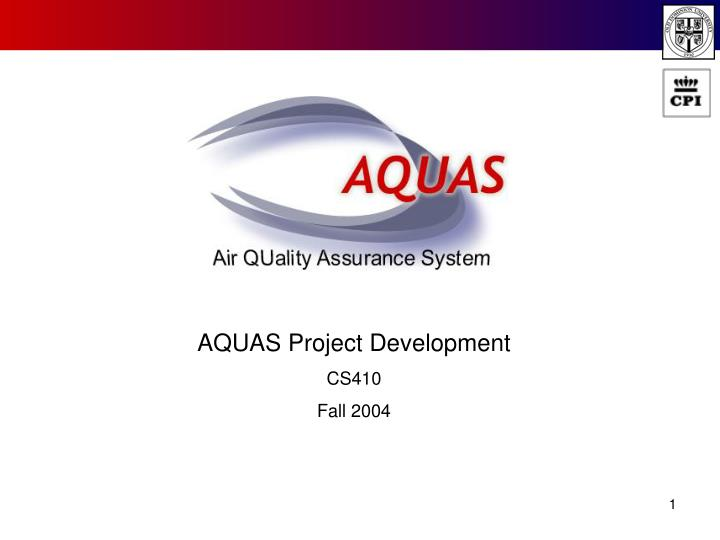 AQUAS Project Development
