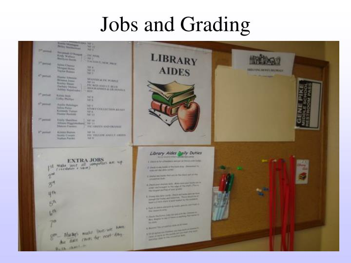 Jobs and Grading