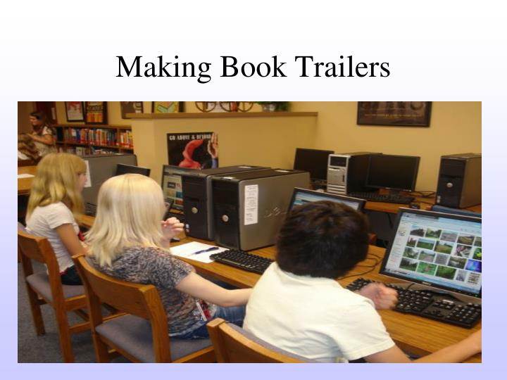 Making Book Trailers
