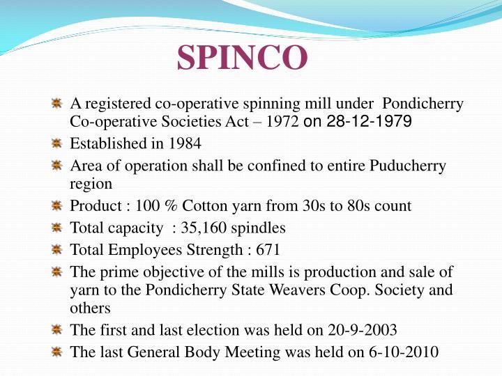 SPINCO