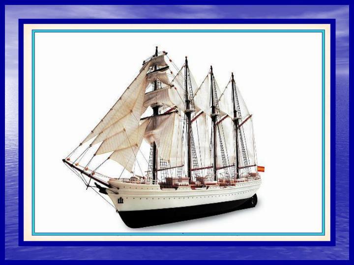 El proyecto de construccin del barco nace con un Real Decreto de 17 de abril de 1925, destinndose para ello un presupuesto de 7.569.794 pesetas y con el fin de sustituir a su predecesor, el buque escuela Minerva. Tom el nombre de Juan Sebastin de Elcano en recuerdo del ilustre marino vasco. Su botadura tuvo lugar el 5 de marzo de 1927 siendo su madrina Carmen Primo de Rivera, hija del presidente del gobierno. Su primer viaje transocenico fue la vuelta al mundo en direccin opuesta a la ruta Magallanes-Elcano. Desde entonces ha realizado otras nueve, as como setenta y dos cruceros de instruccin, recorriendo ms de milln y medio de millas nuticas por todos los mares del planeta. En l se han formado generaciones y generaciones de oficiales de marinos de la Armada, navegando con el viento y ayudados por el sextante y el comps. En su ya larga trayectoria, el barco ha soportado numerosos temporales en cualquiera de sus numerosas manifestaciones (pamperos, ciclones, huracanes, tifones, monzones ,etc.), luchando contra olas de quince metros de altura y vientos de ms de ciento sesenta kilmetros por hora.