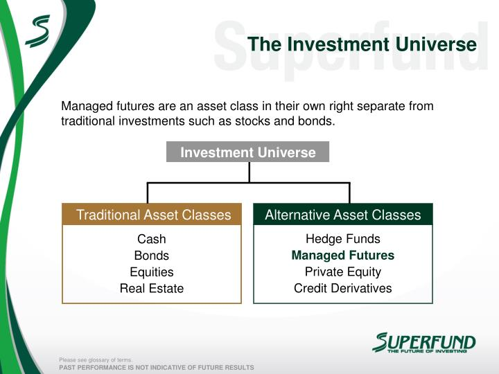 The Investment Universe