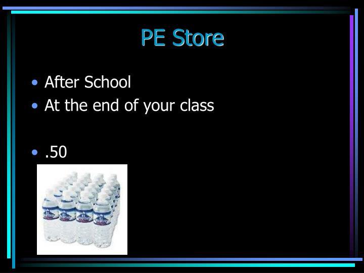 PE Store