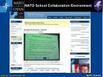 nato school collaboration environment