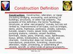 construction definition
