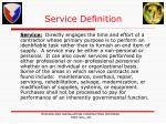 service definition