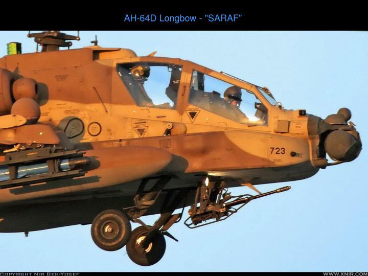 "AH-64D Longbow - ""SARAF"""