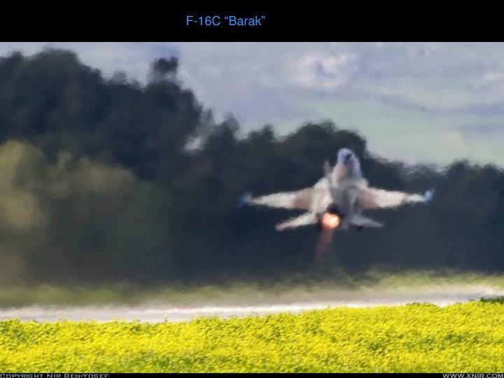 """F-16C """"Barak"""""""