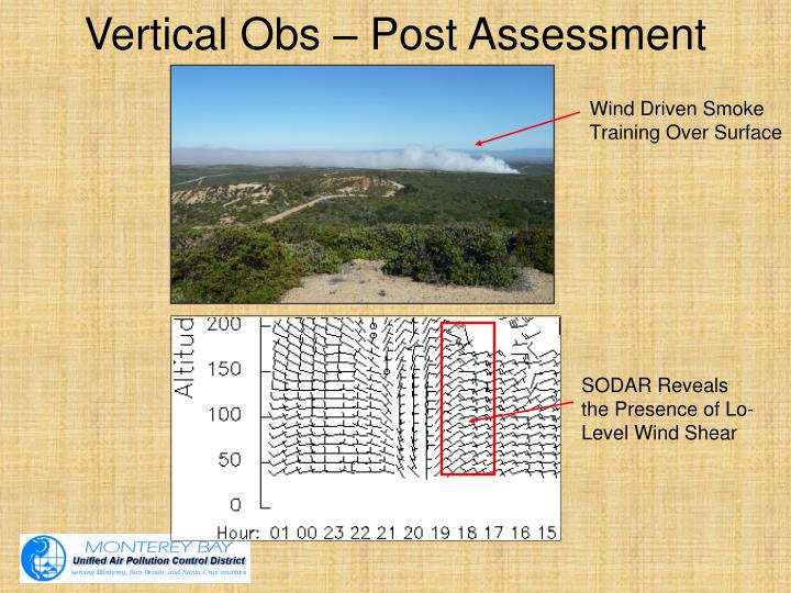 Vertical Obs – Post Assessment