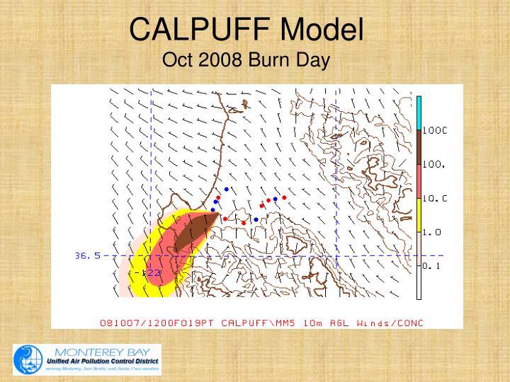 CALPUFF Model