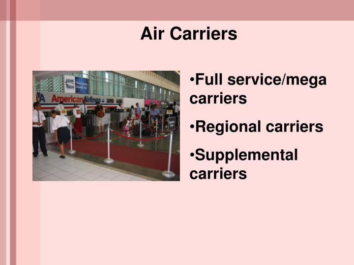 Air Carriers