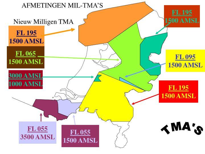AFMETINGEN MIL-TMA'S