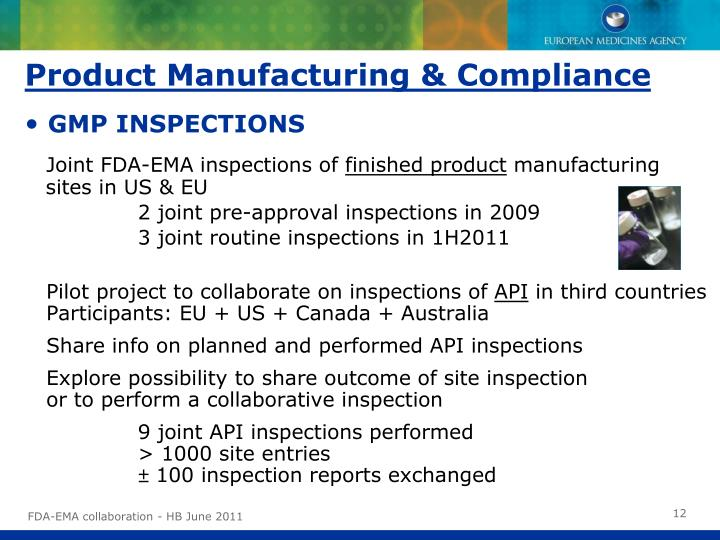 Product Manufacturing & Compliance