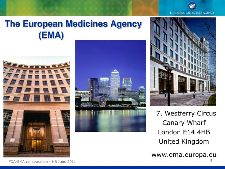The European Medicines Agency