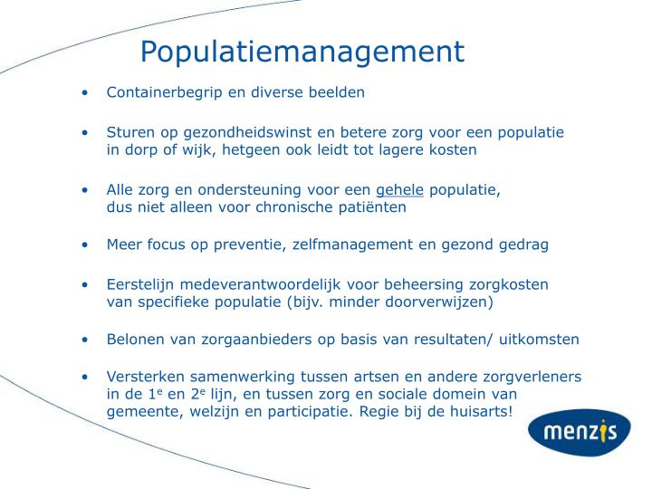 Populatiemanagement