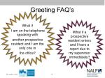 greeting faq s