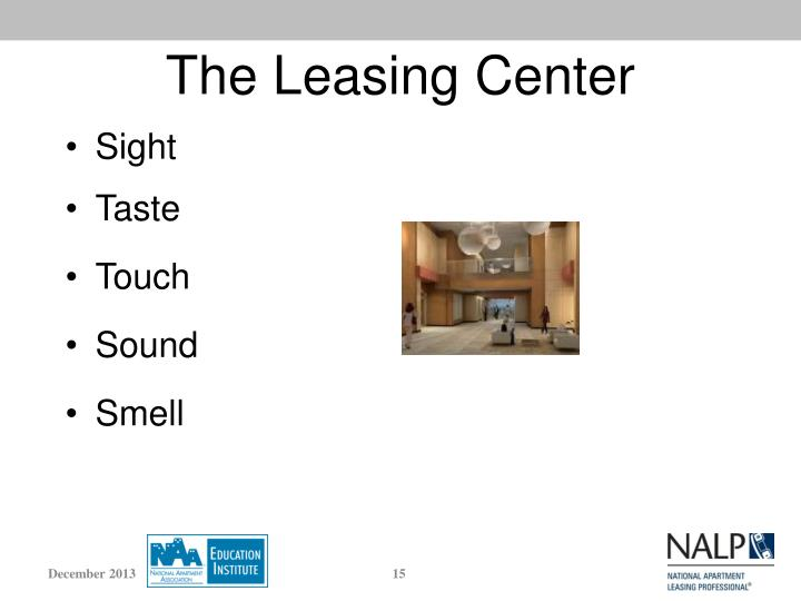 The Leasing Center