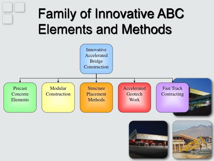 Family of Innovative ABC Elements and Methods