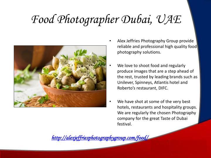 Food Photographer Dubai, UAE