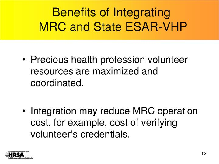 Benefits of Integrating