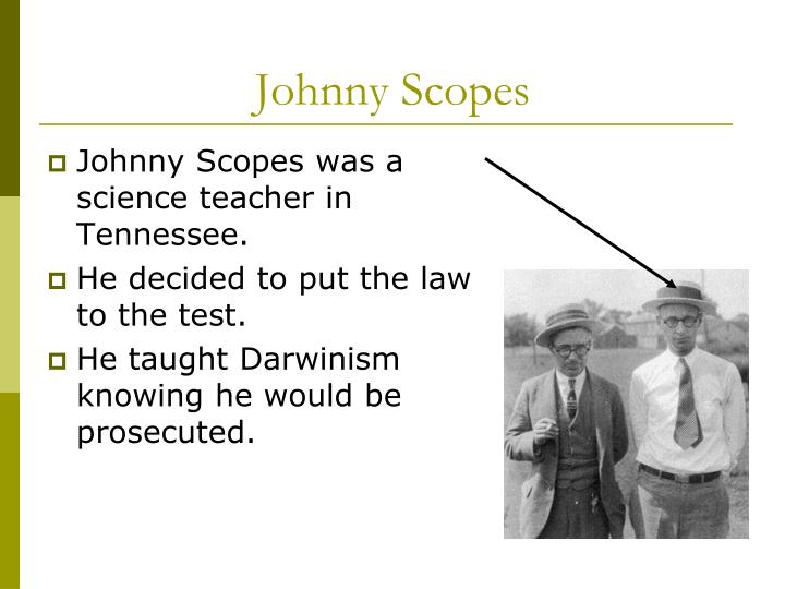 Johnny Scopes