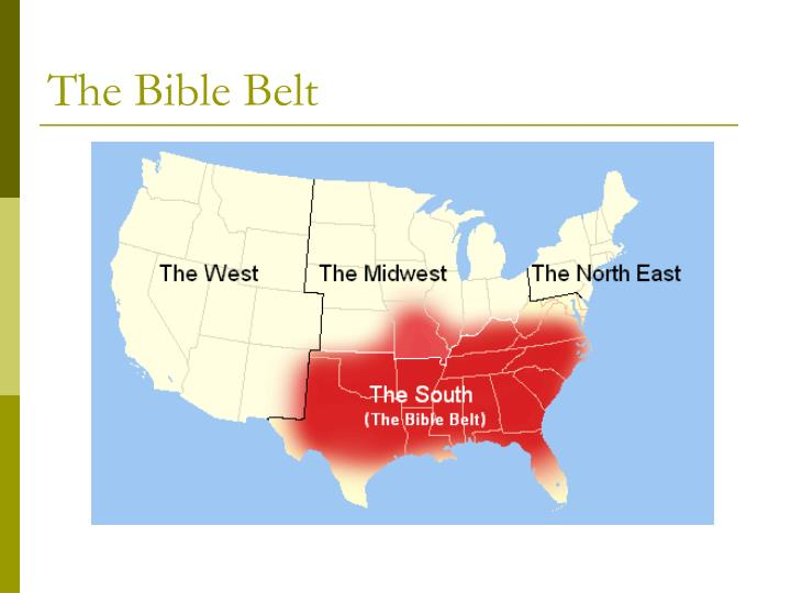 The Bible Belt