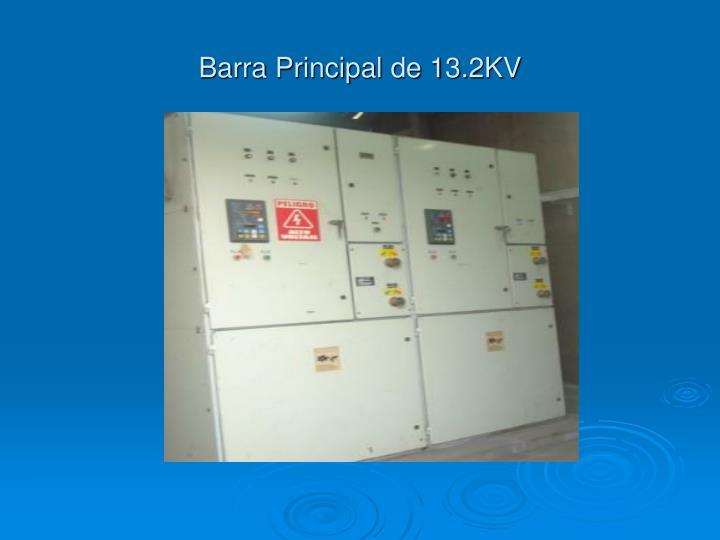 Barra Principal de 13.2KV
