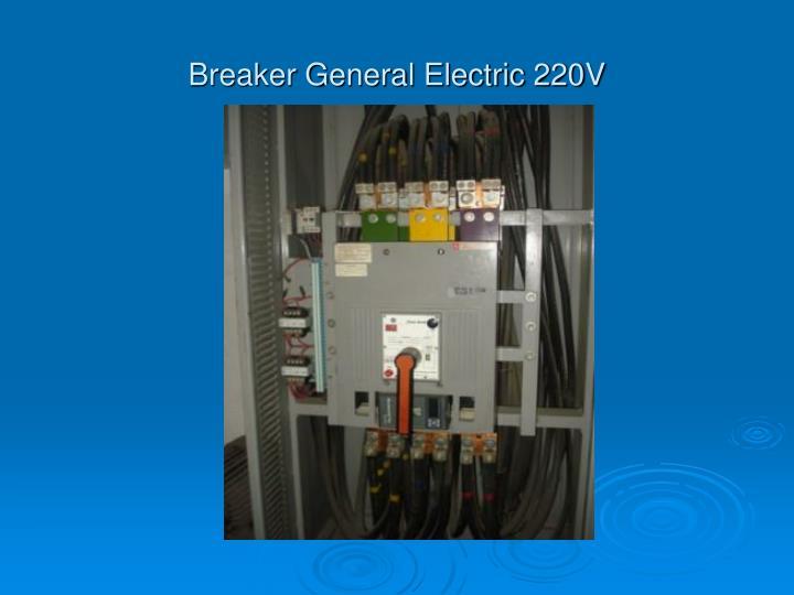 Breaker General Electric 220V