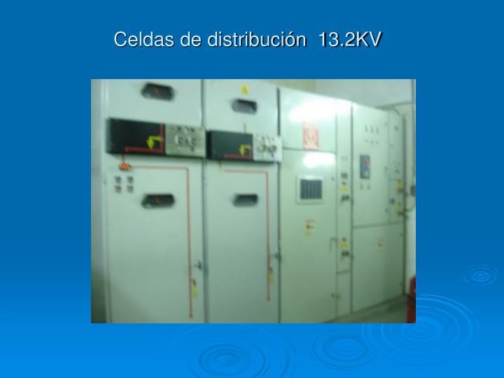 Celdas de distribución  13.2KV