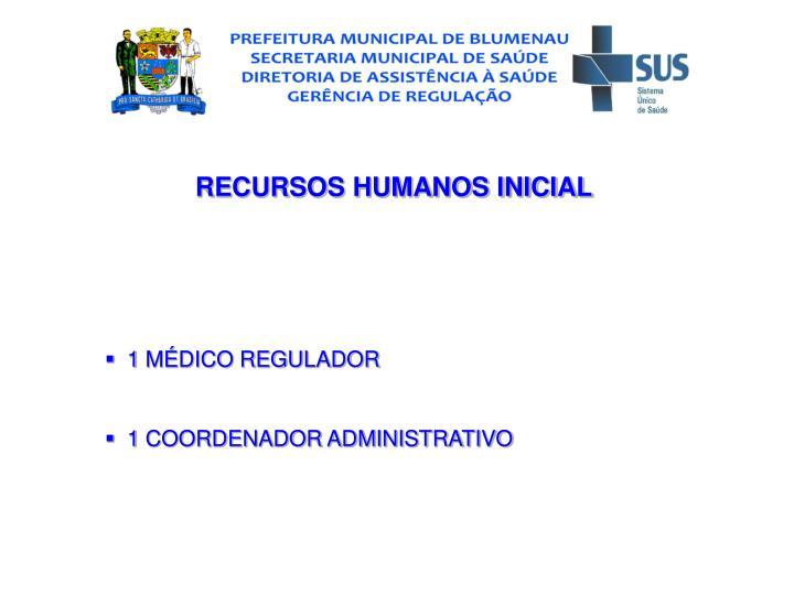 RECURSOS HUMANOS INICIAL