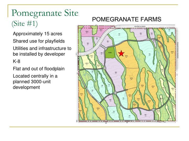 Pomegranate Site