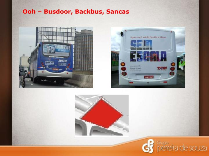 Ooh – Busdoor, Backbus, Sancas