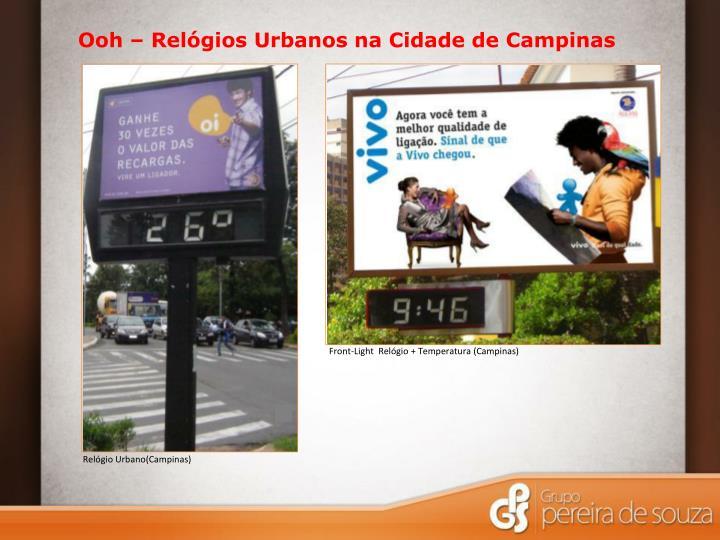 Ooh – Relógios Urbanos na Cidade de Campinas