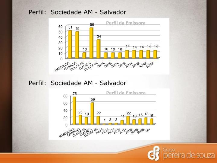 Perfil:  Sociedade AM - Salvador