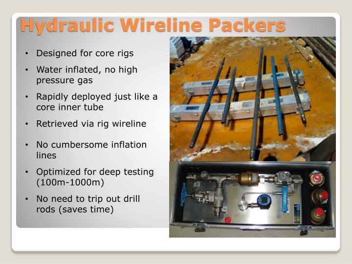 Designed for core rigs