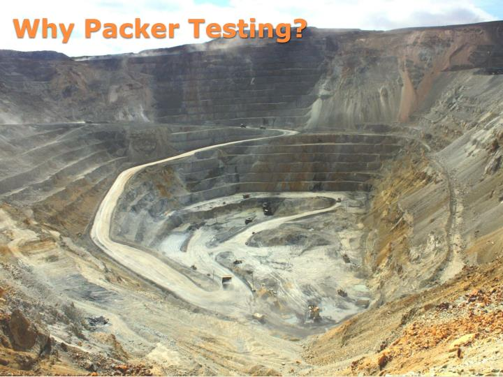 Why Packer Testing?