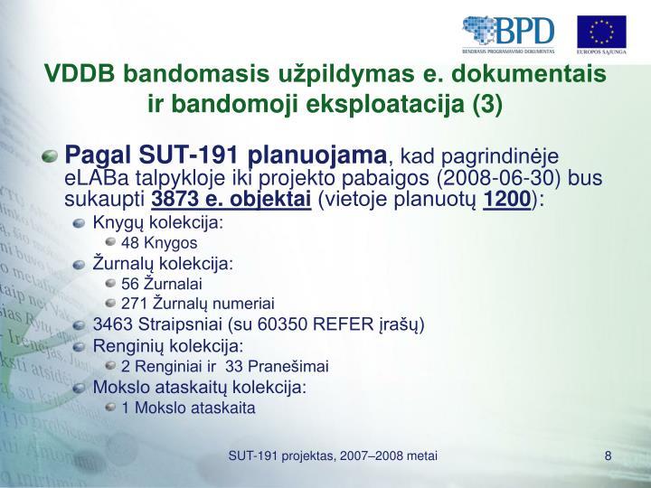 VDDB bandomasis užpildymas e. dokumentais ir bandomoji eksploatacija (3)
